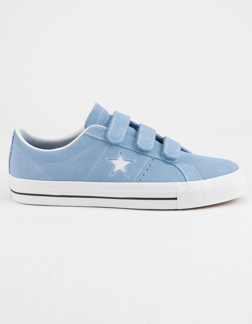cd15736dd39 Lyst - Converse One Star Pro 3v Ox Light Blue   White Shoes in Blue ...