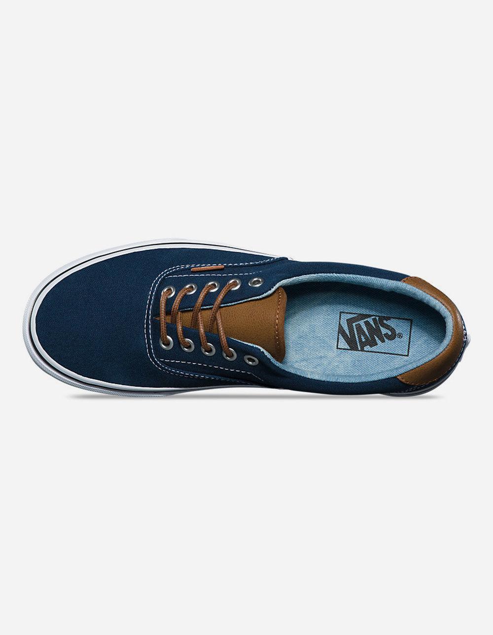 78d2dcd4a70 Lyst - Vans C l Era 59 Dress Blues   Acid Denim Shoes in Blue for Men