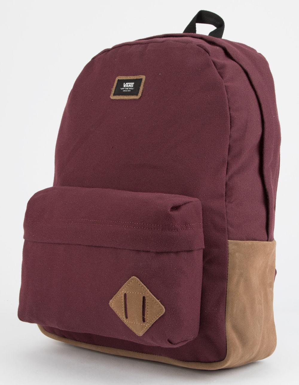 Lyst - Vans Old Skool Ii Burgundy Backpack in Purple