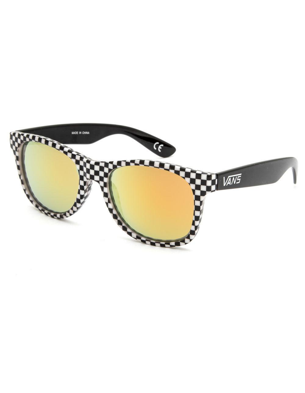 7b63b6fd165 Lyst - Vans Spicoli 4 Checkered Sunglasses for Men