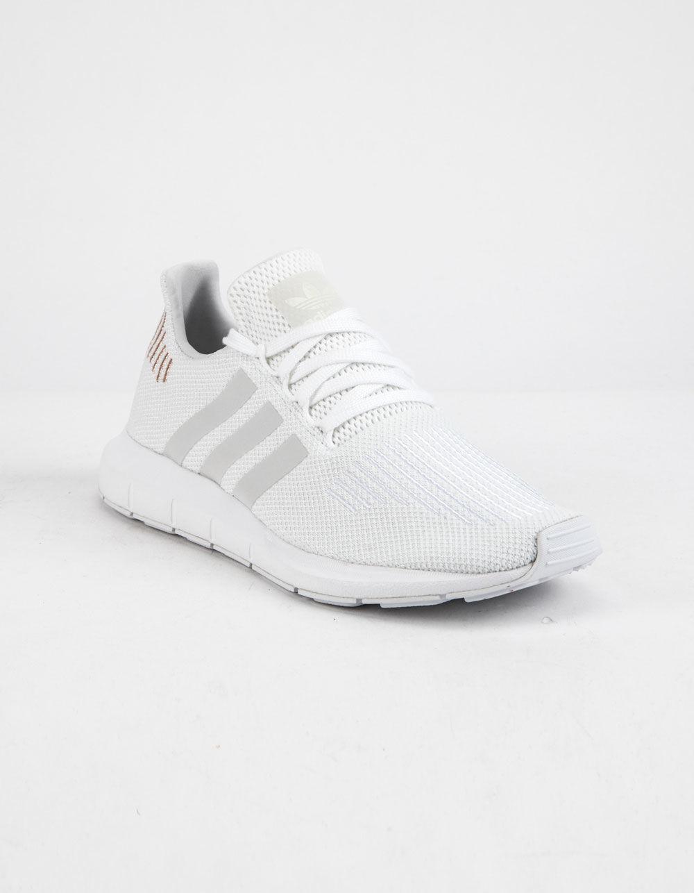 Lyst - adidas Swift Run Cloud White   Crystal White Womens Shoes in White ef10baa7e