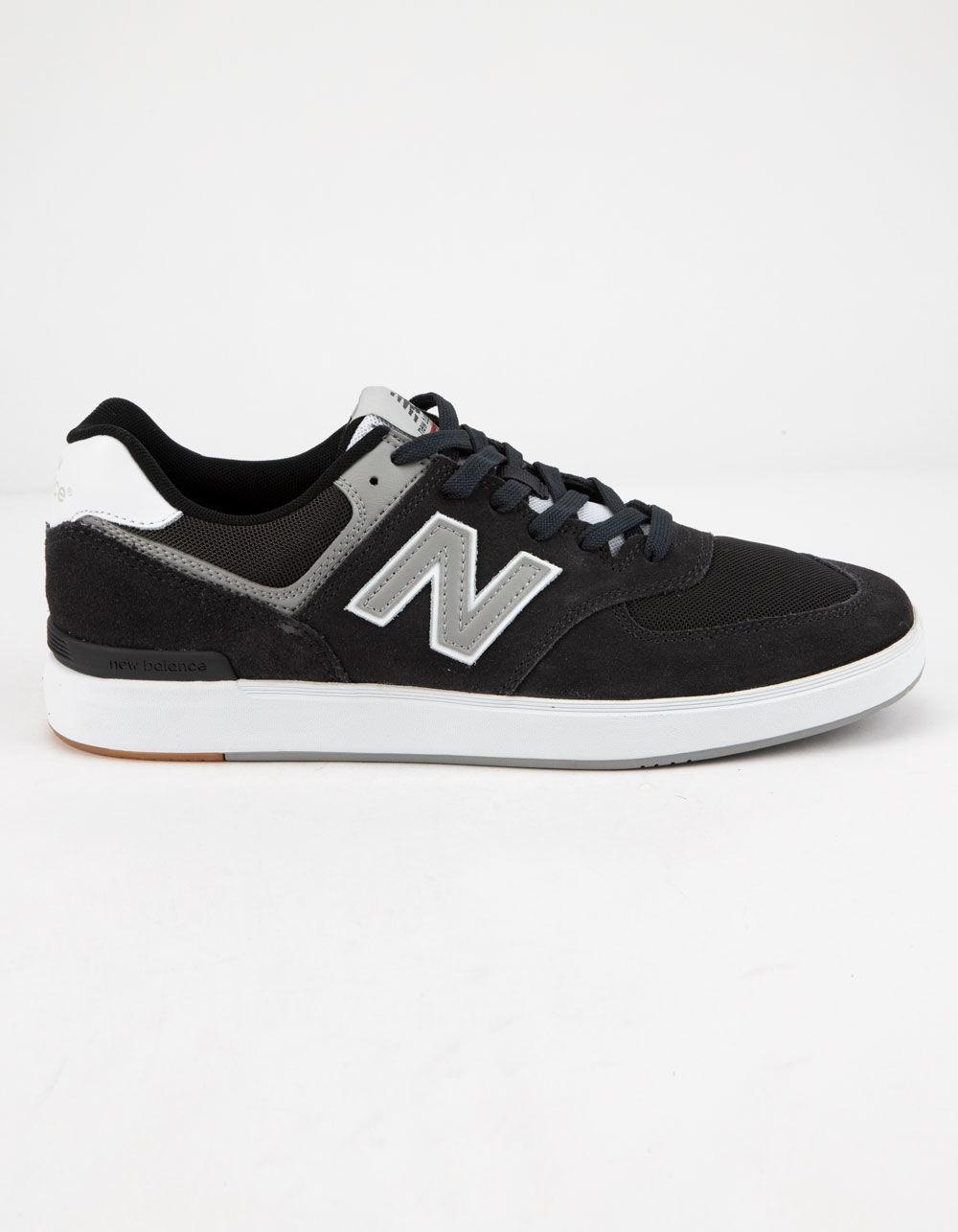 c23be4a7589c8 New Balance Am574 Shoes in Black for Men - Save 44% - Lyst