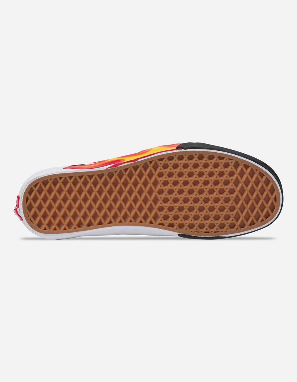 29e9e5fb0d8 Vans - Black Flame Cut Out Old Skool Shoes for Men - Lyst. View fullscreen