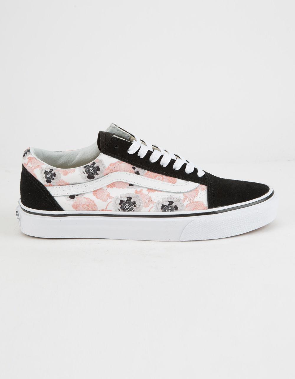 vans damen old skool sneakers pink