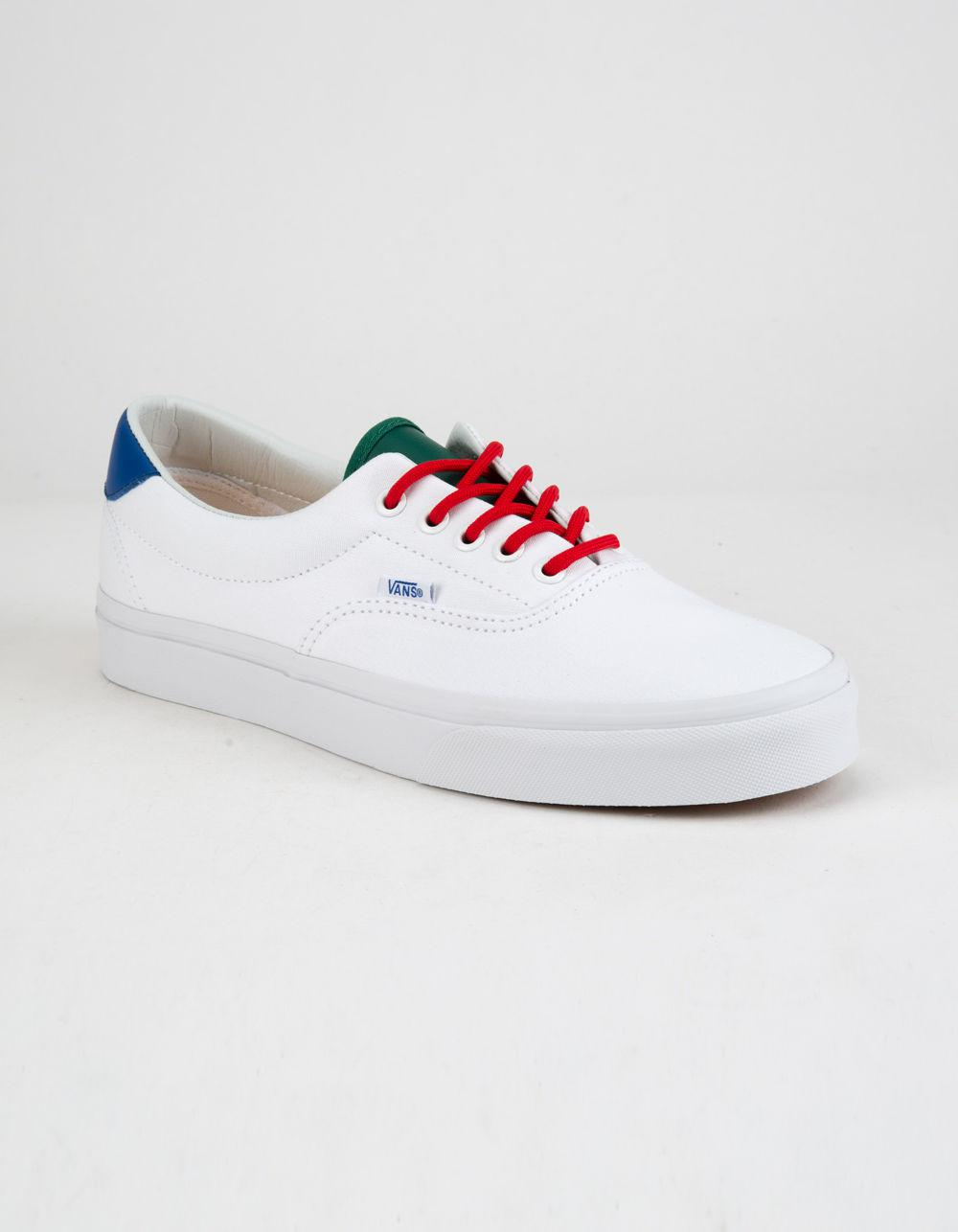 8eb2174b6b Lyst - Vans Yacht Club Era 59 True White Mens Shoes in White for Men