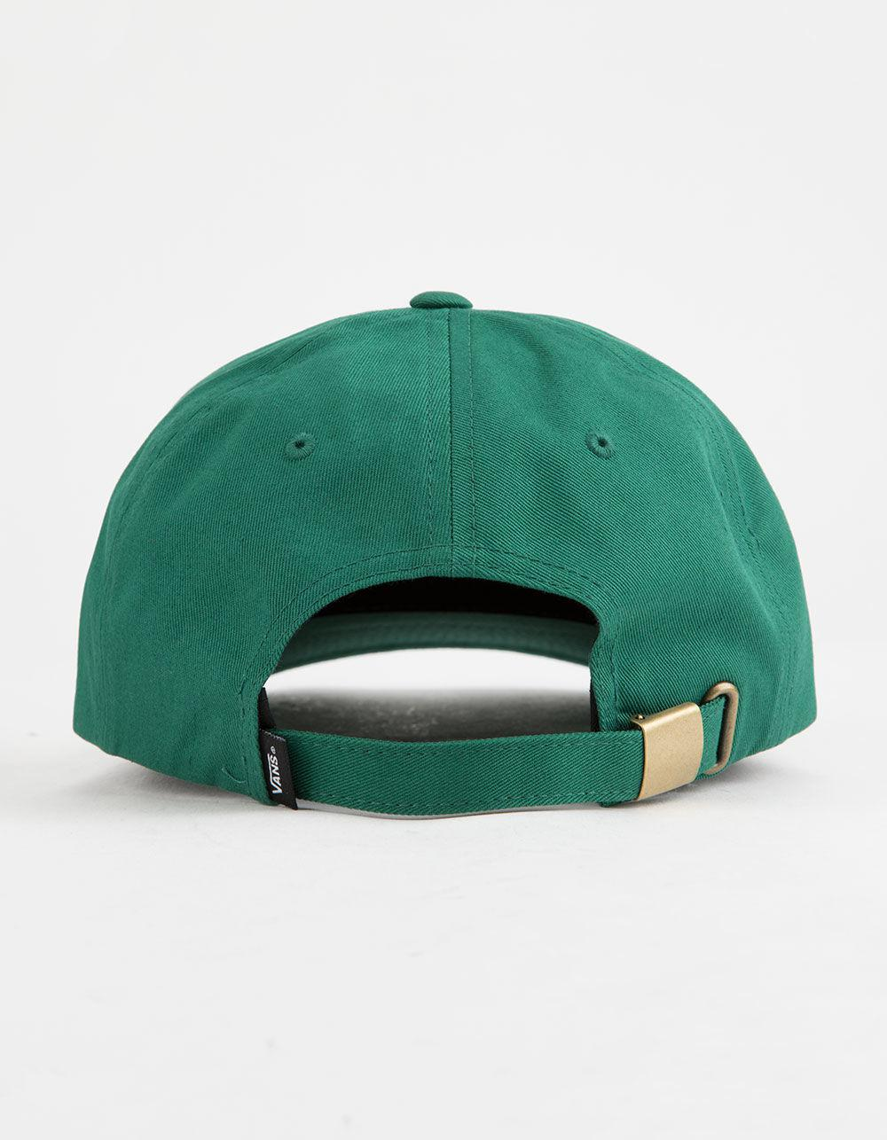 cff6634cc0aacb Lyst - Vans Curved Bill Jockey Mens Strapback Hat in Green for Men