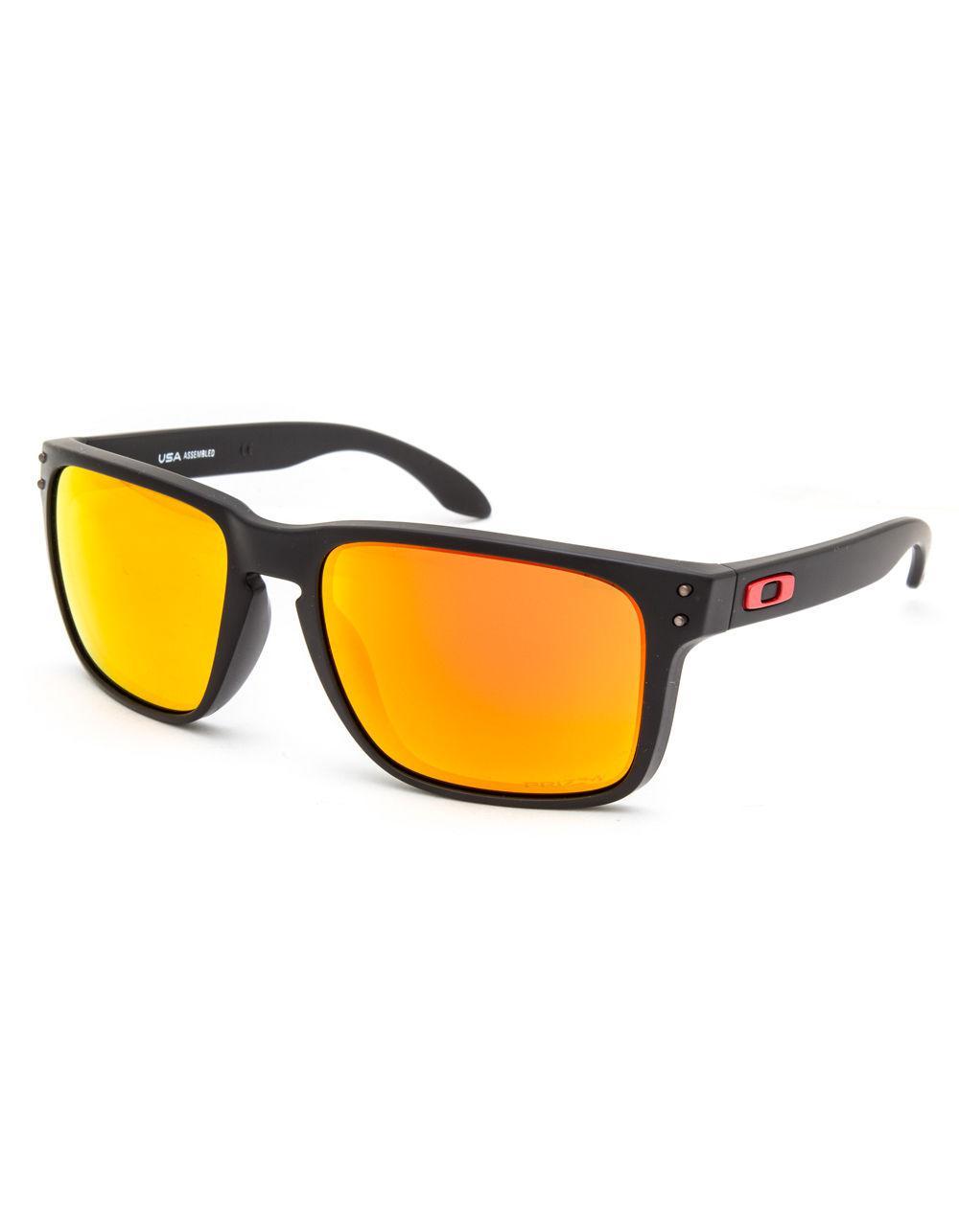b5b5d6e5e4 Lyst - Oakley Holbrook Xl Matte Black   Prizm Ruby Sunglasses in ...