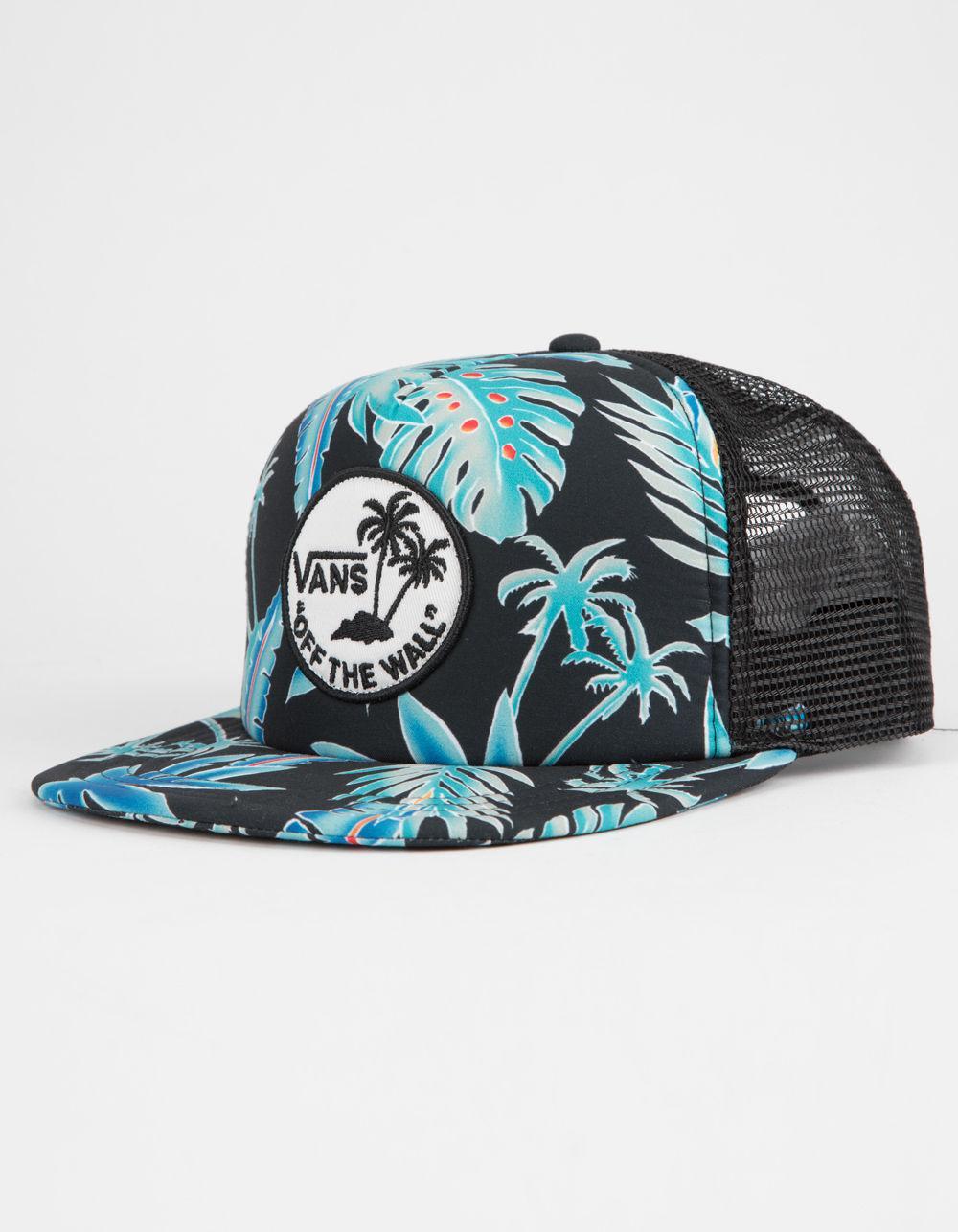 Lyst - Vans Surf Patch Mens Trucker Hat in Black for Men 698c36dda3ad