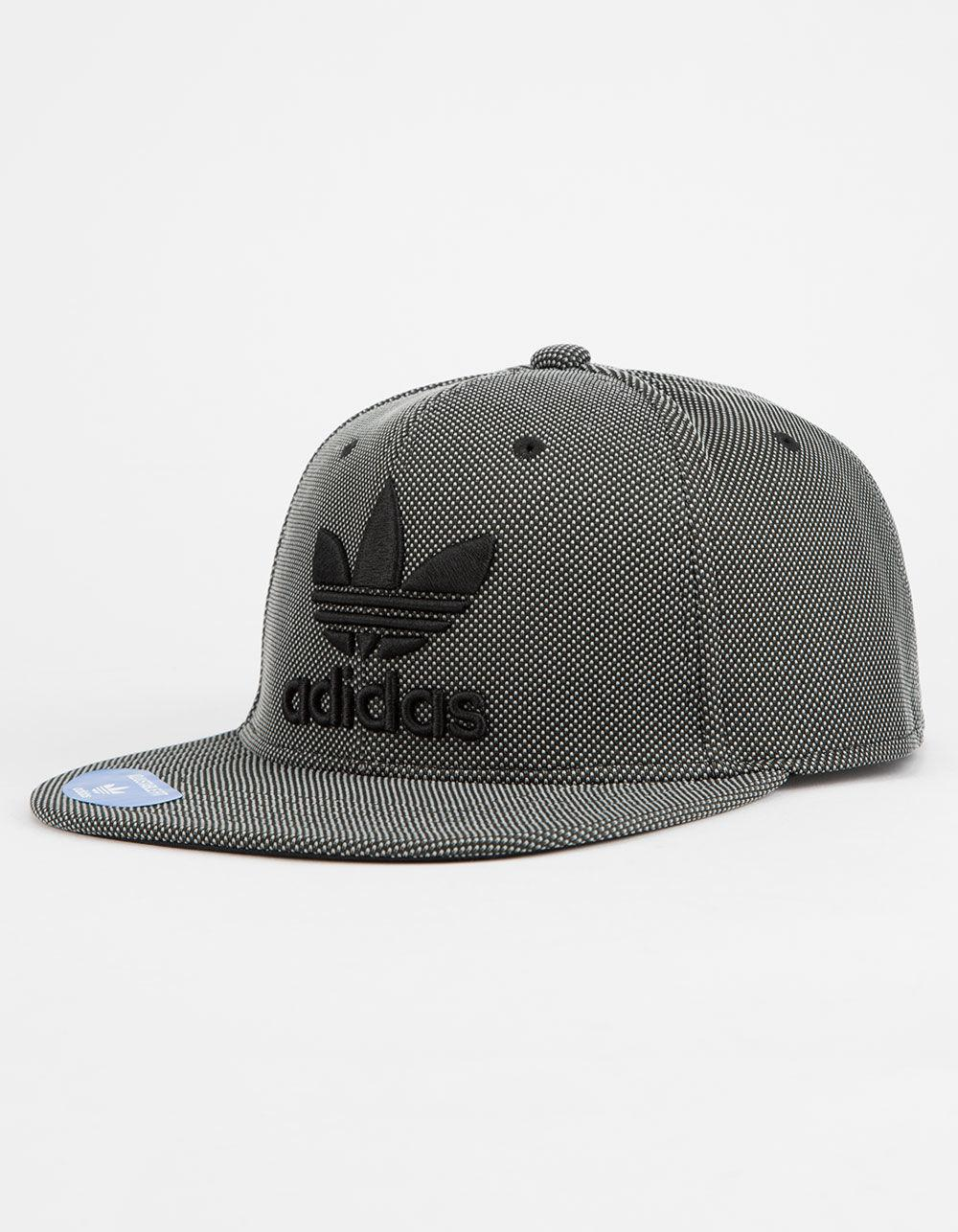 ed71cb40a45 Lyst - adidas Trefoil Plus Men Snapback Hat in Gray for Men