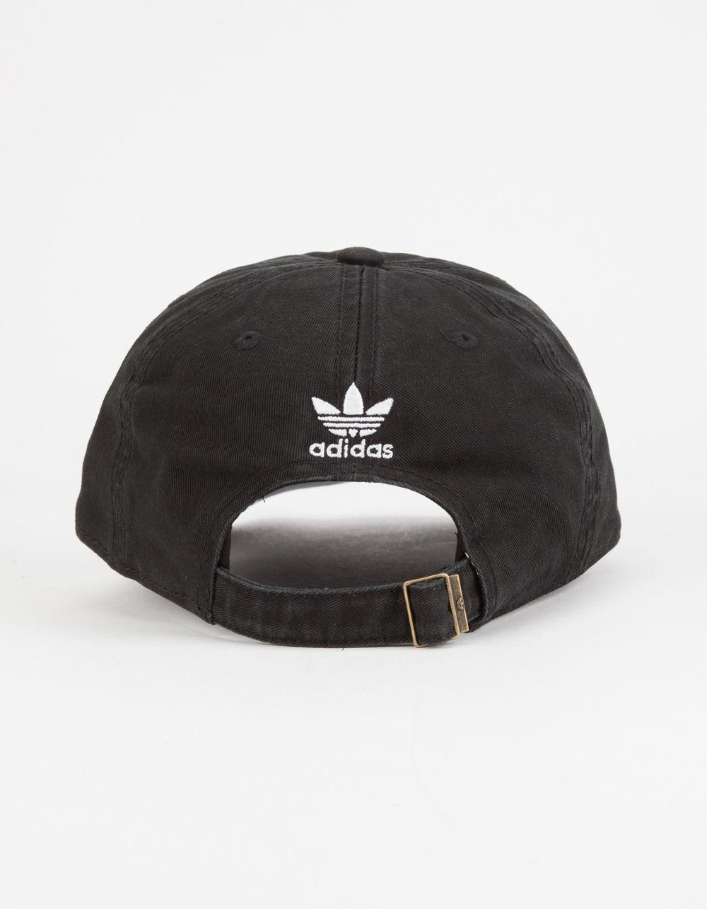 01355ba40ce Lyst - adidas Originals Relaxed Mens Dad Hat in Black for Men
