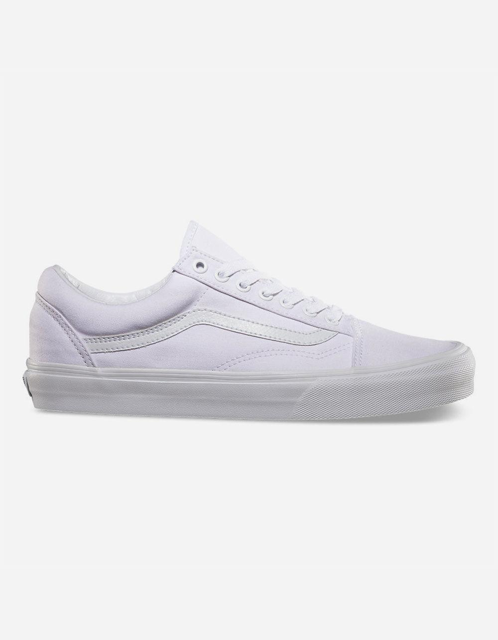 a6f5cab8fd5 Lyst - Vans Canvas Old Skool Shoes in White