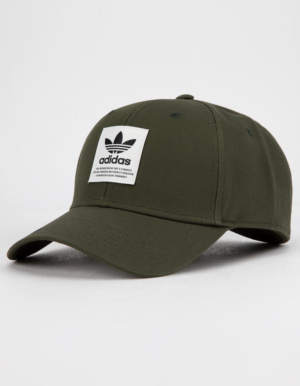 e4ca0c34b06 Adidas - Green Originals Trefoil Patch Night Cargo Mens Snapback Hat for Men  - Lyst. View fullscreen