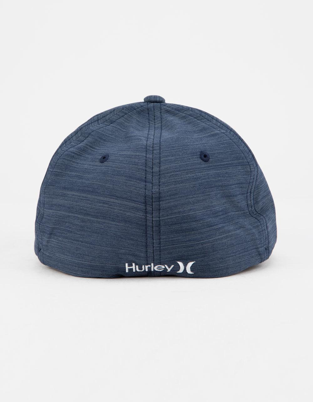 hot sale online 82da8 62ab4 Lyst - Hurley Dri-fit Cutback Mens Flexfit Hat in Blue for Men
