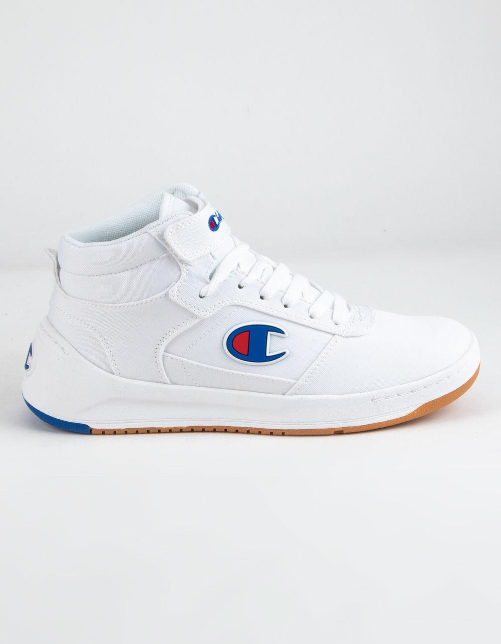 f59f4cd885914 Lyst - Champion Super C Court Mid Sneakers in White - Save 1%