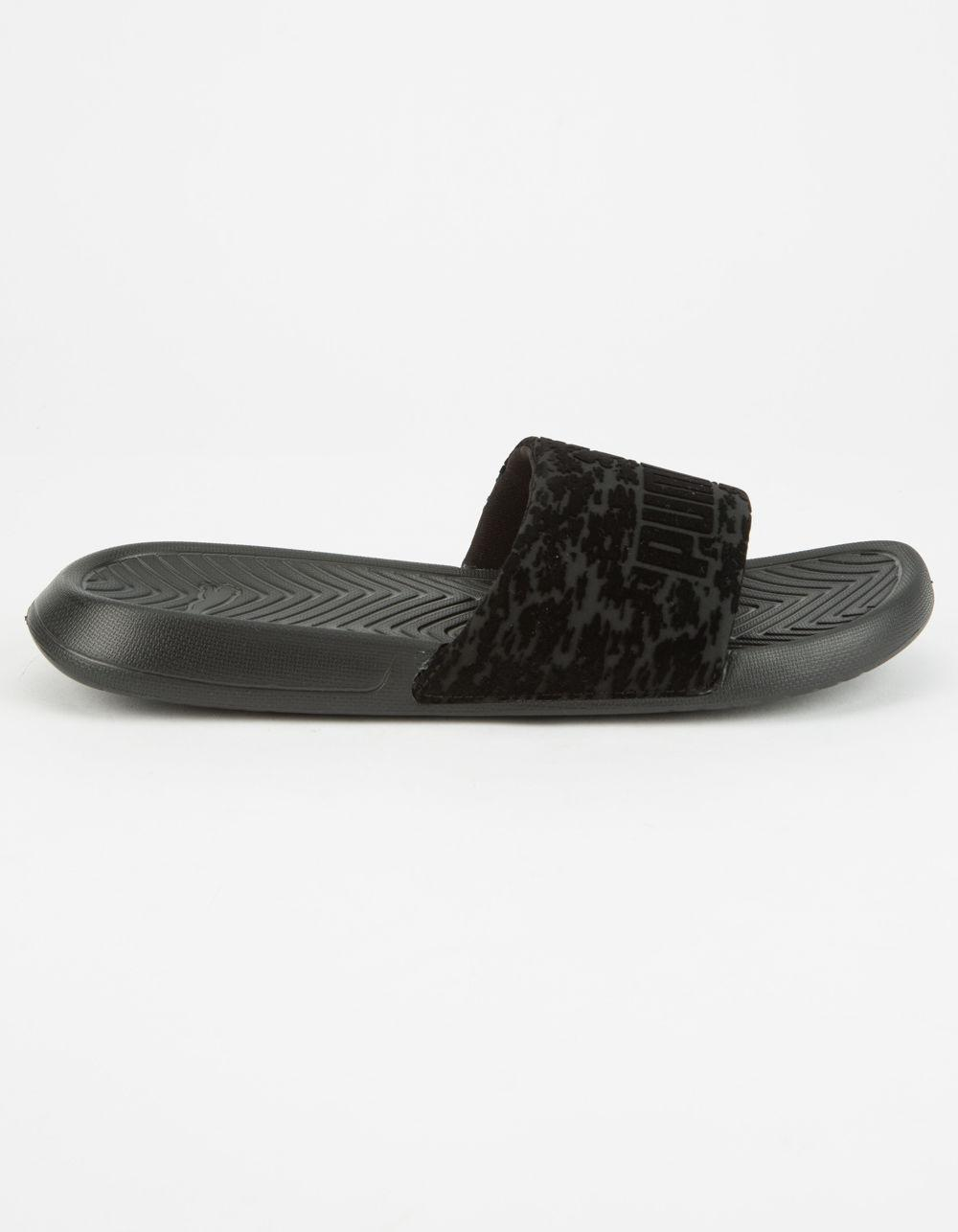 814e84292460 Lyst - PUMA Popcat Vr Womens Slide Sandals in Black