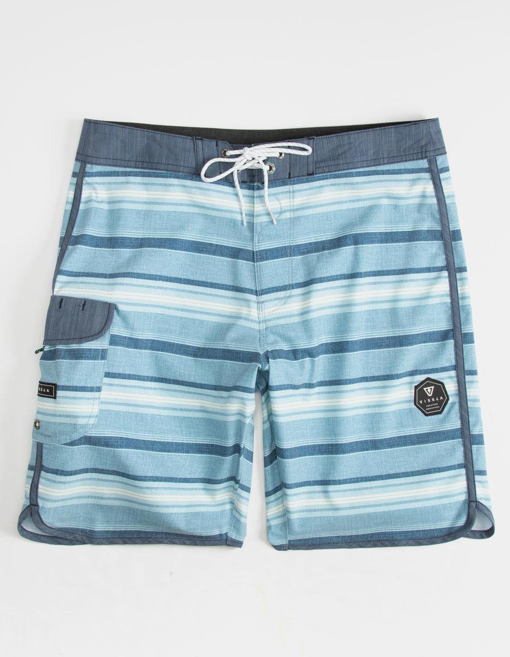 978781e89f Lyst - Vissla Tiger Tracks Mens Boardshorts in Blue for Men