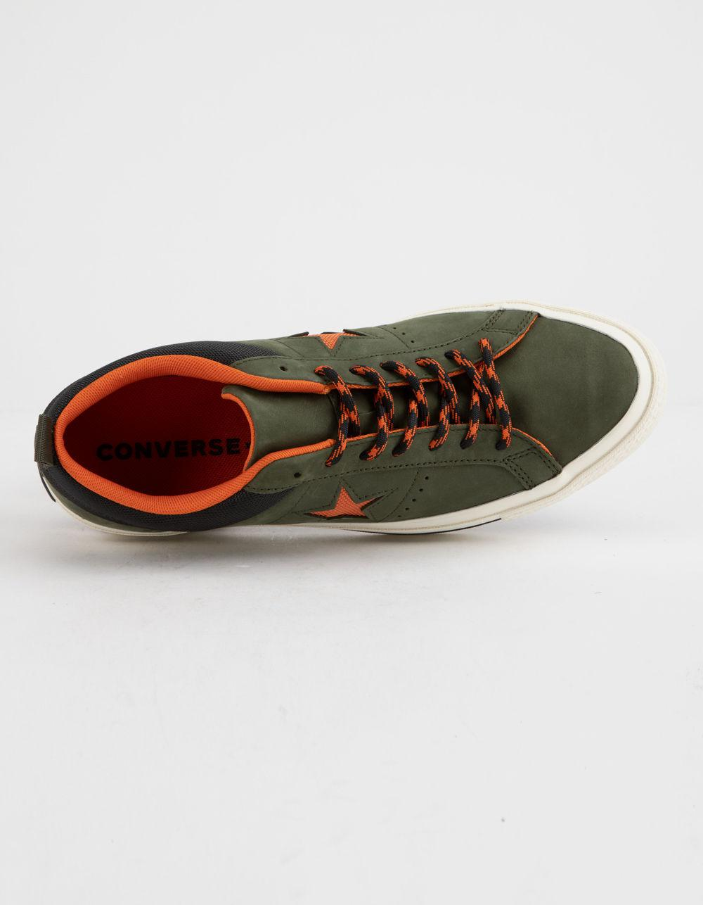 bcce8597c7e999 Converse - Green One Star Ox Sierra Low Top Shoes - Lyst. View fullscreen
