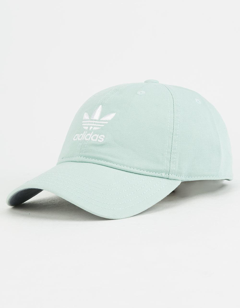 fa550575920 Lyst - adidas Originals Relaxed Ash Green   White Mens Strapback Hat ...