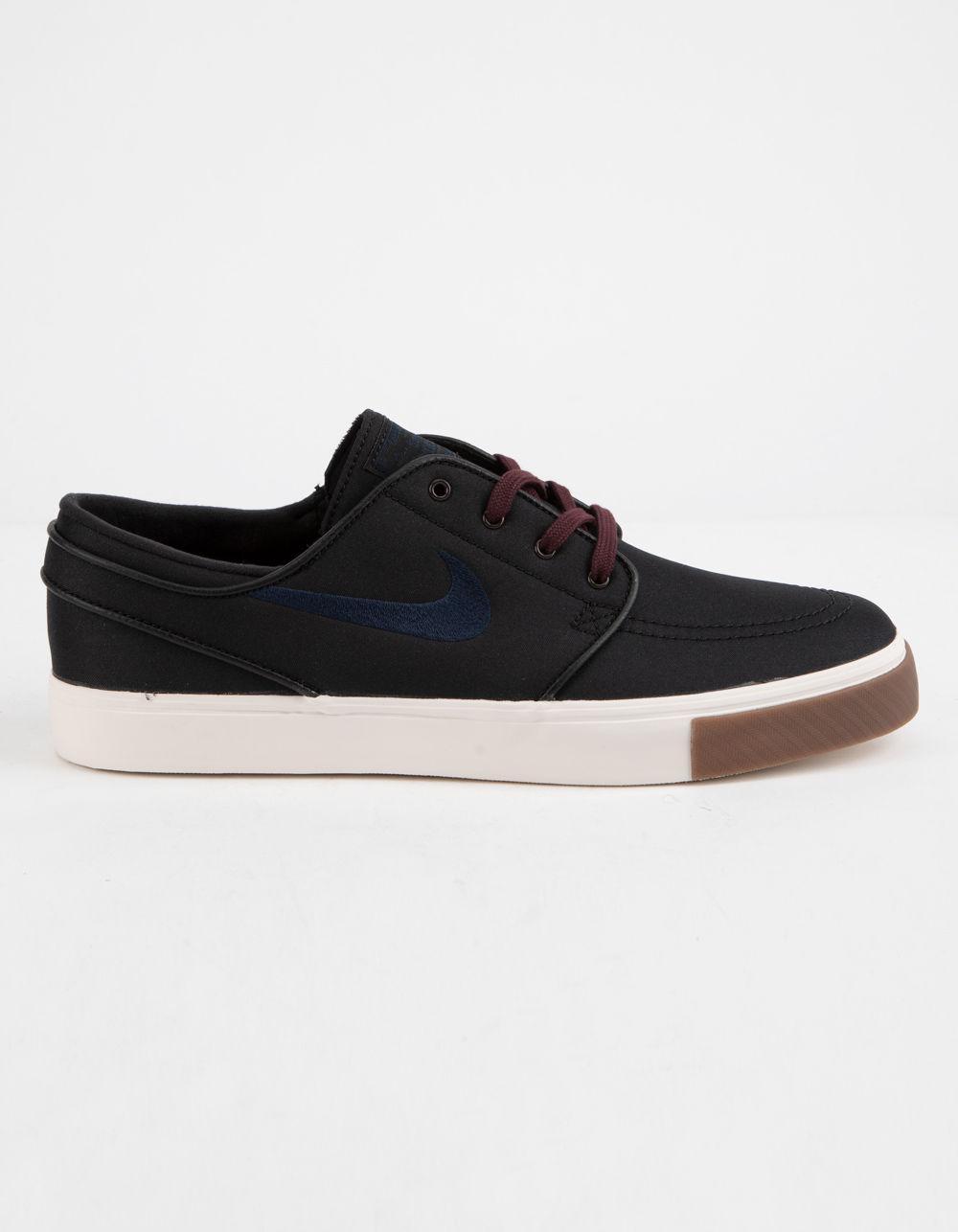 dd2777648c79 Lyst - Nike Zoom Stefan Janoski Canvas Obsidian   Burgundy Shoes in ...