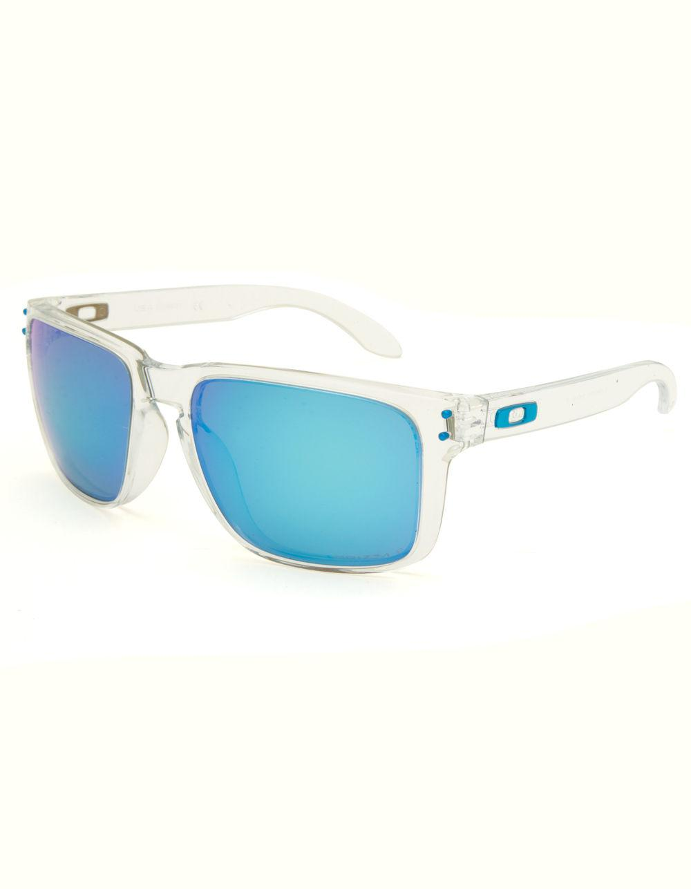 4ffedf25508 Lyst - Oakley Holbrook Xl Clear   Blue Sunglasses in Blue for Men