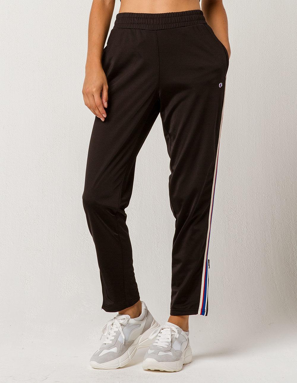 103e51f179cd Lyst - Champion Side Stripe Womens Track Pants in Black
