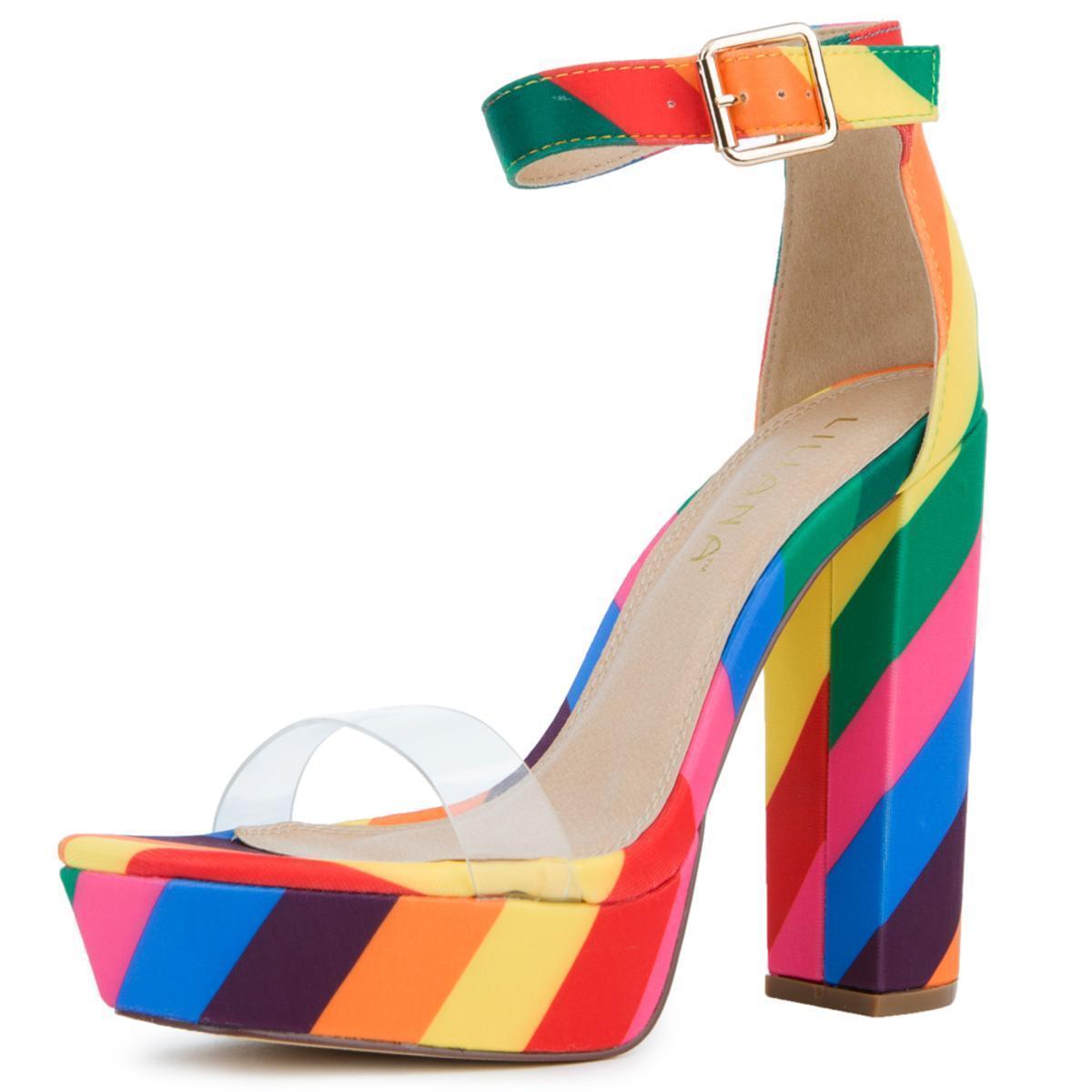 739b93b7ccea LILIANAS SHOES - Multicolor Yuko-40 Platform Heels - Lyst. View fullscreen