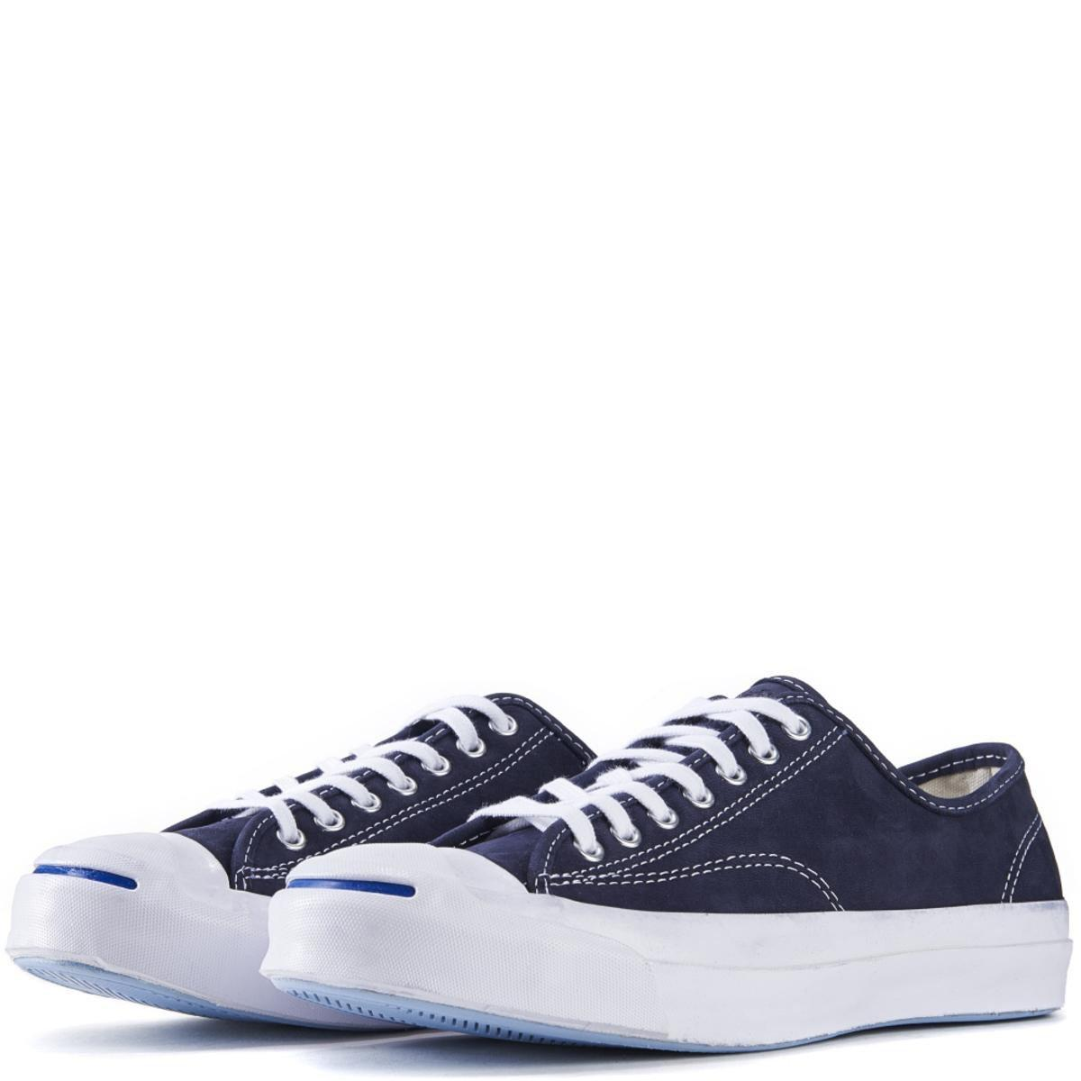 5d830e495eb1 Converse - Blue Jack Purcell Signature Nubuck Inked Sneakers for Men - Lyst.  View fullscreen