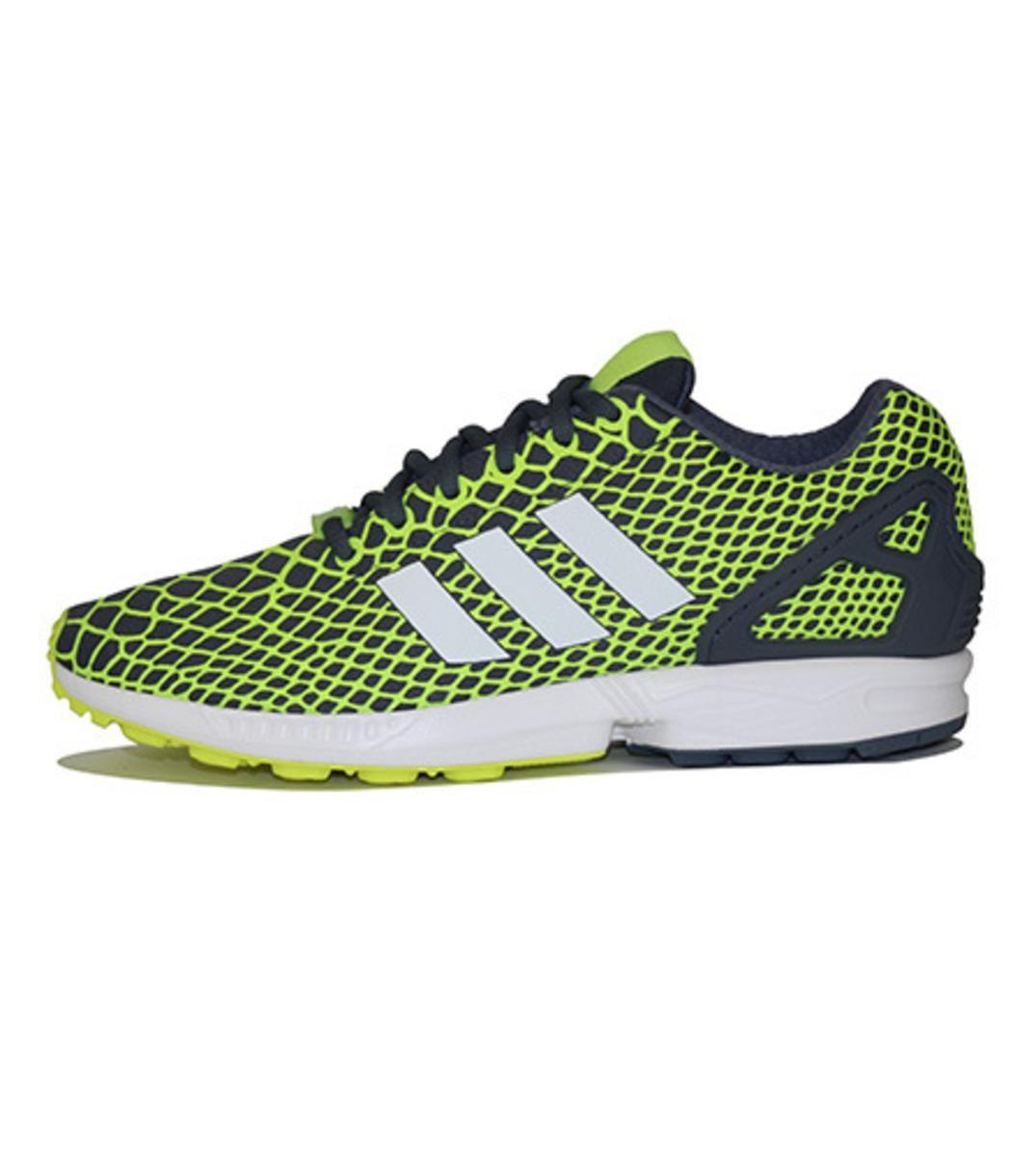 5567ef393d827 Lyst - Adidas Zx Flux Techfit Sneakers in Yellow for Men