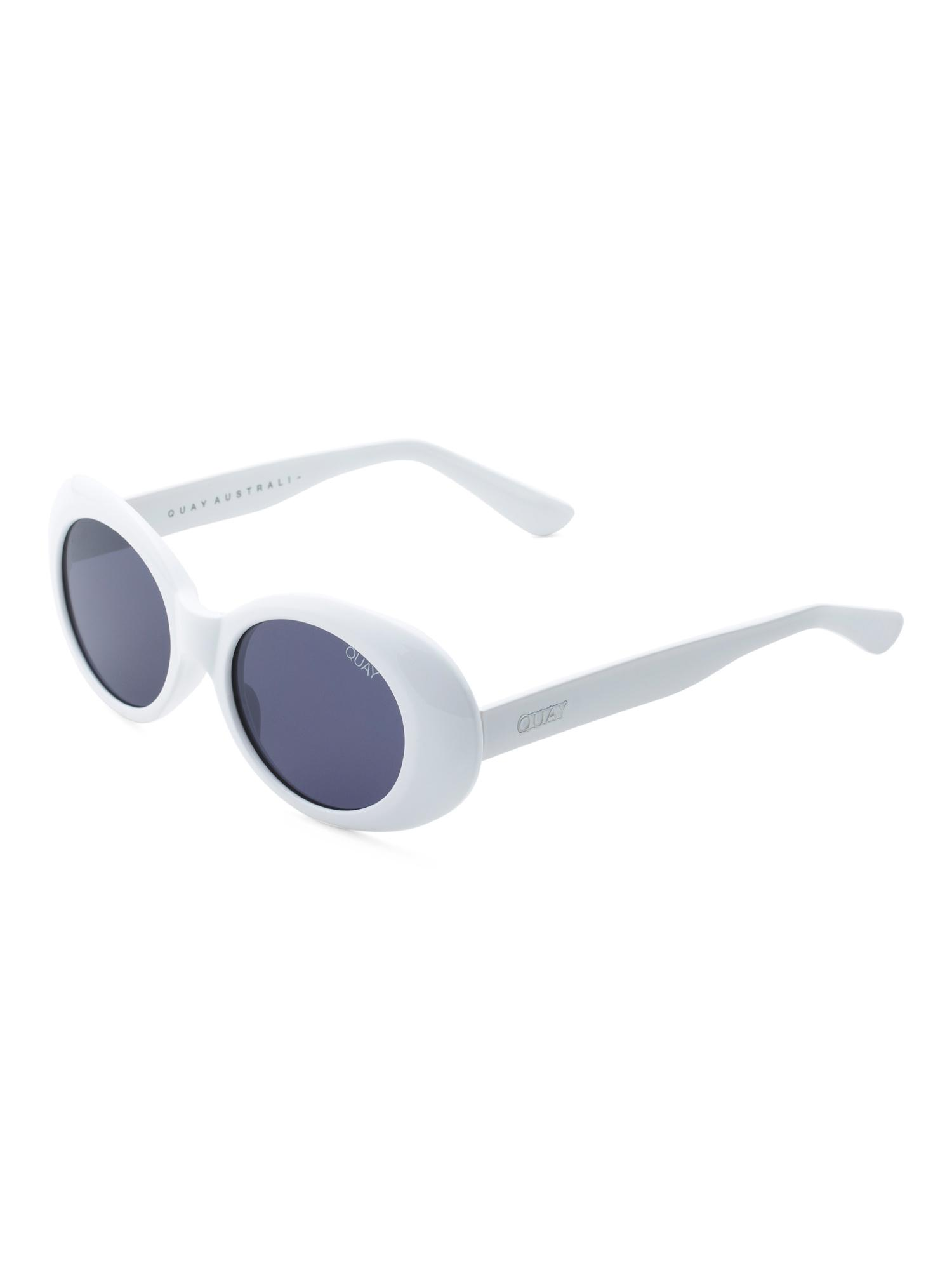 5810df0a9143 Tj Maxx Frivolous Sunglasses in White - Lyst