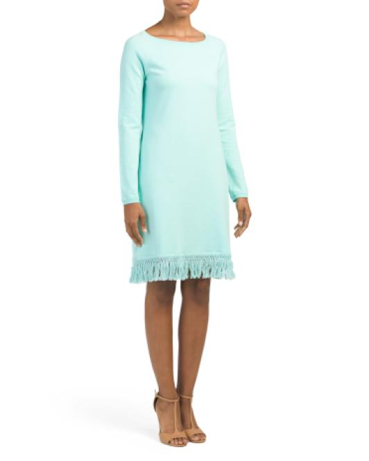 TJ Maxx Sweater Dress