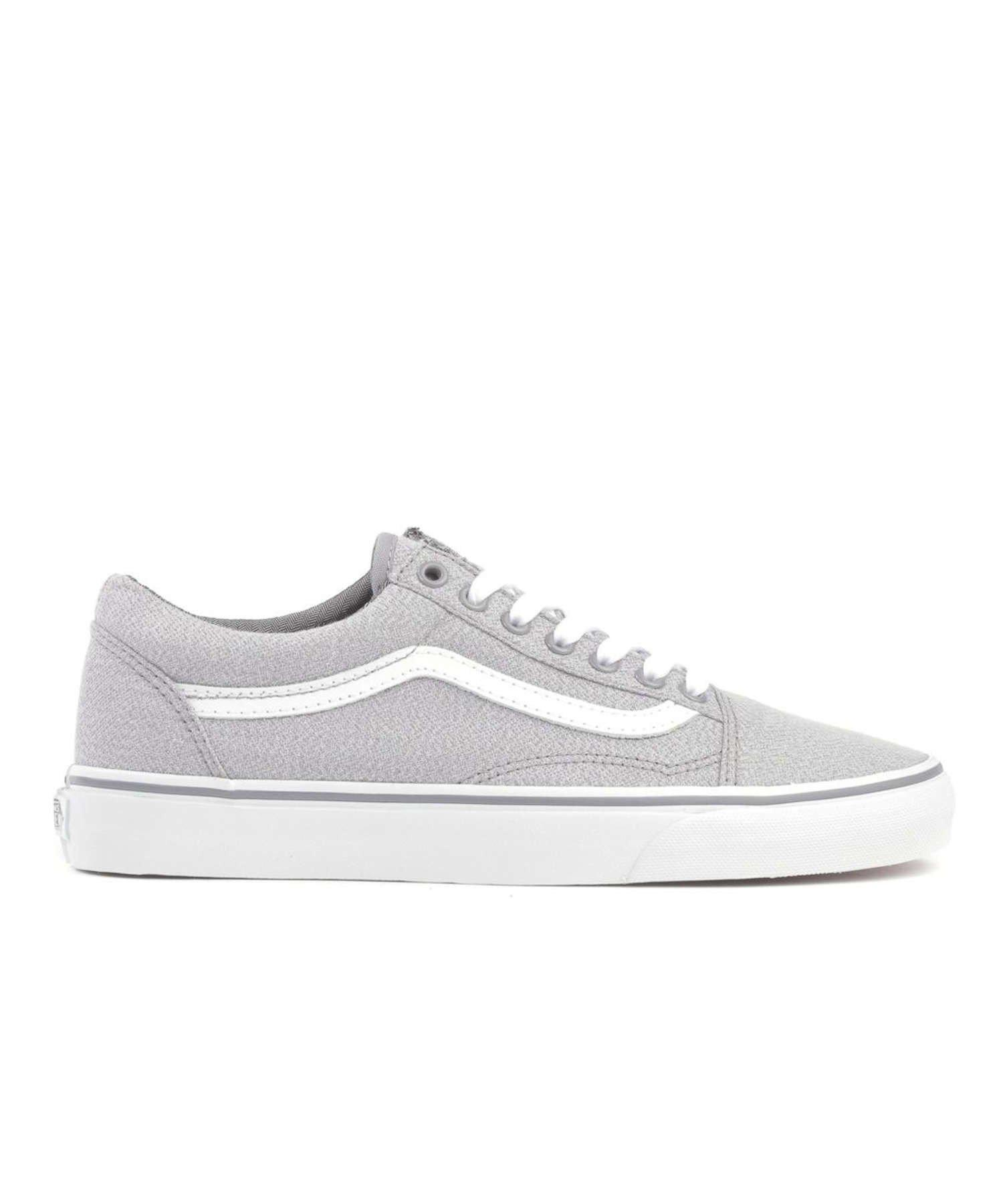 4c3e0f5a0a3 Lyst - Vans Old Skool Suiting Fabric In Frost Grey in Gray for Men