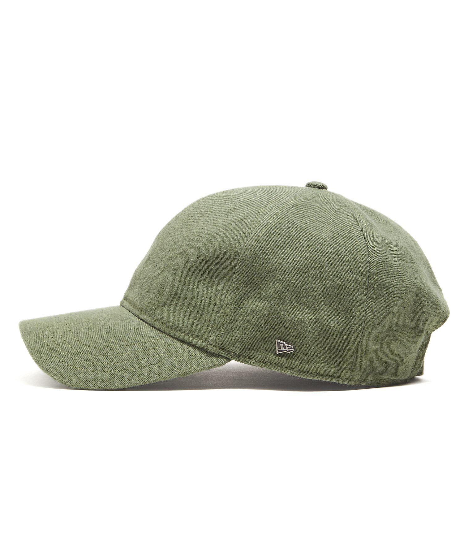 9709b9268df ... cheap lyst new era hats dad hat in olive selvedge chino in green for  men 492e5