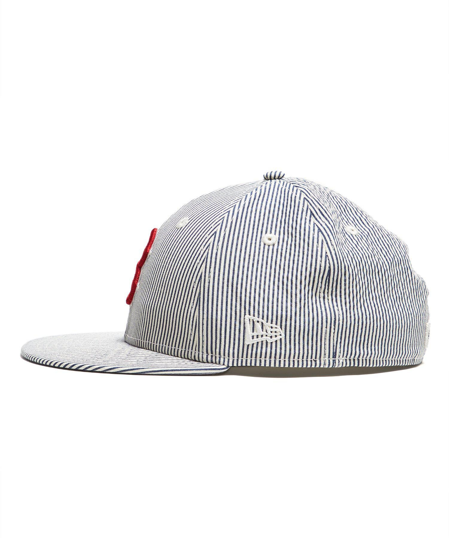 af9594d488b New Era Hats Boston Red Sox Cap In Seersucker in Blue for Men - Lyst