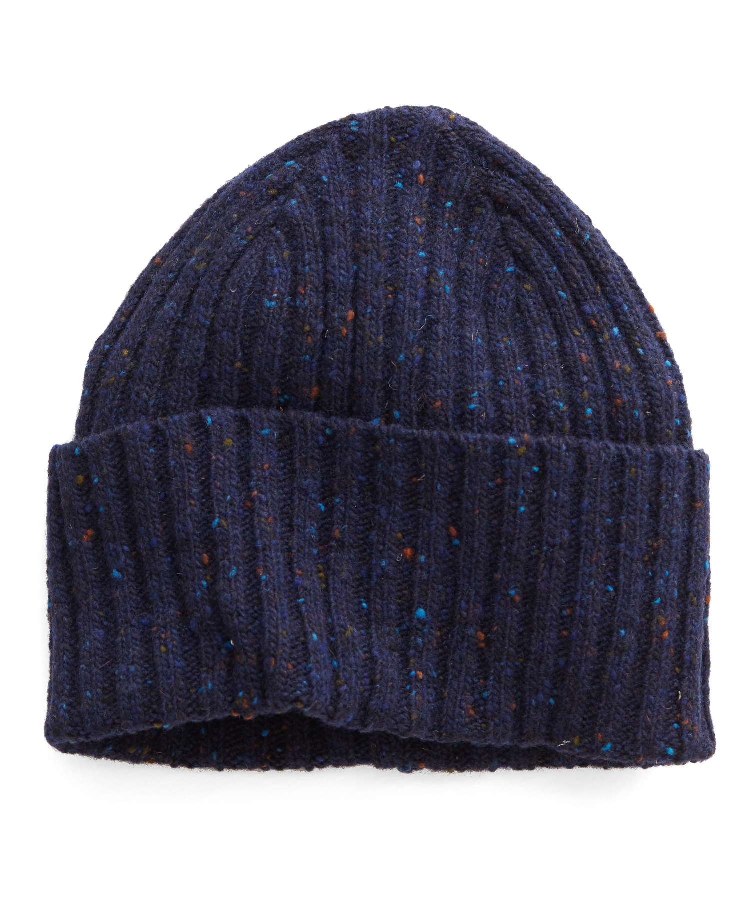 Lyst - Drake s Donegal Wool Hat In Navy in Blue for Men 3362ef419851
