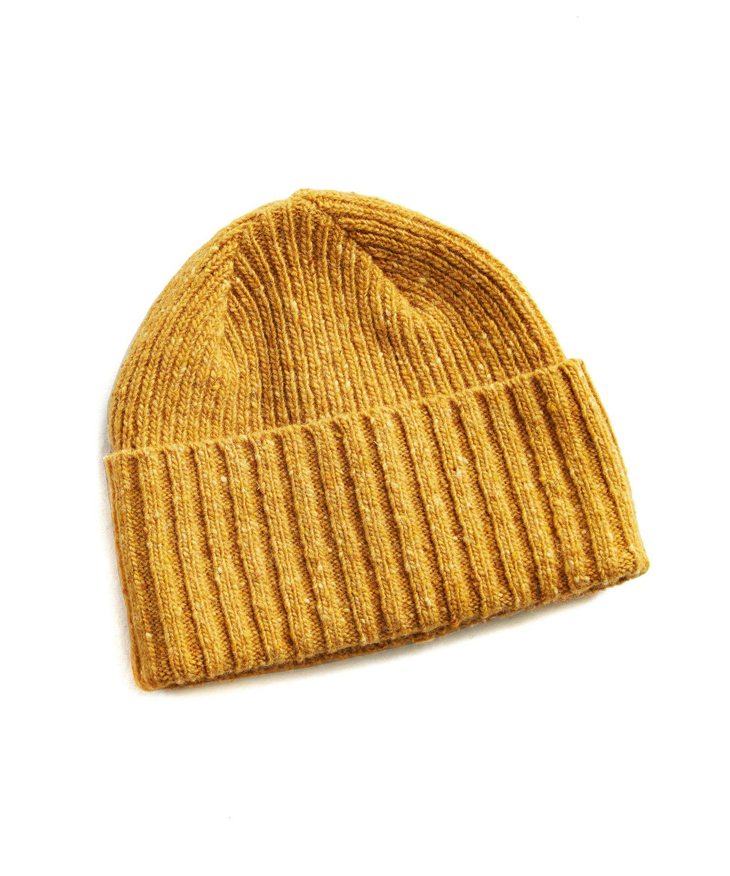 Lyst - Drake s Donegal Merino Wool Hat In Yellow in Yellow for Men 90eb6526c6e0