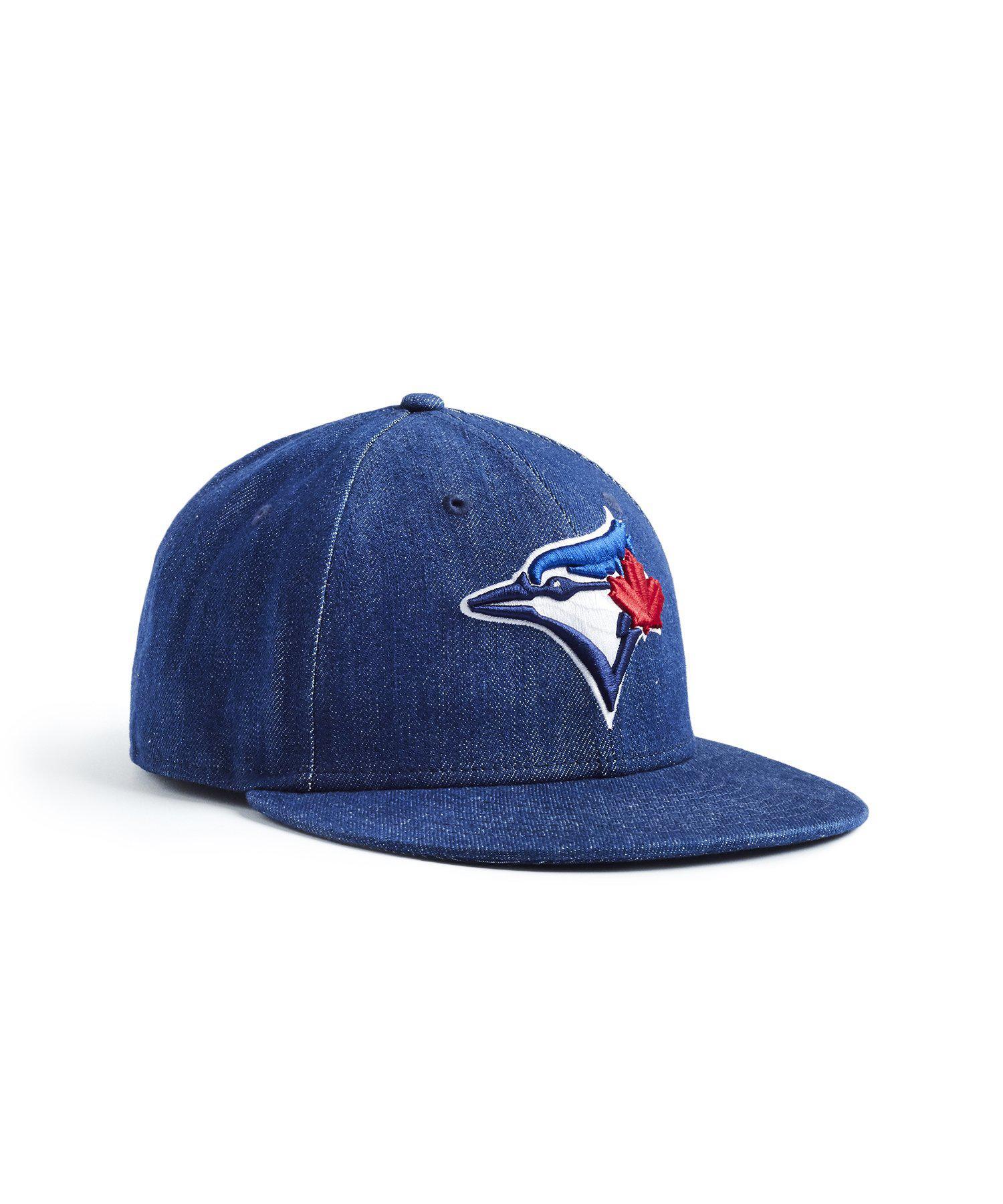 finest selection d4404 3fa6c NEW ERA HATS - Mlb Toronto Blue Jays Cap In Cone Denim for Men - Lyst. View  fullscreen