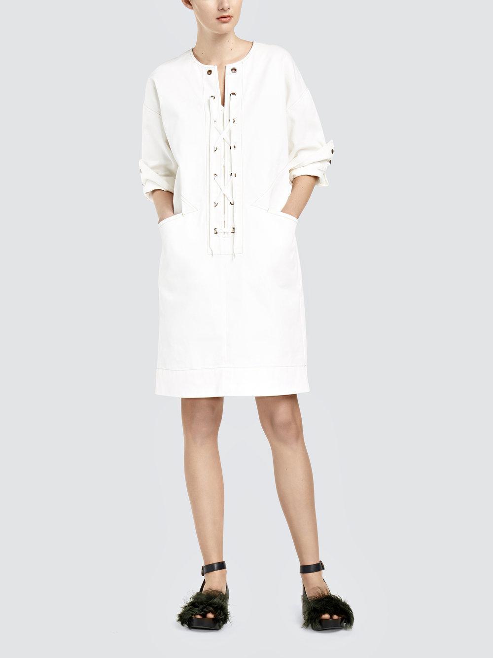 comfort denim tunic dress - Blue Tomas Maier CLyBwwN0