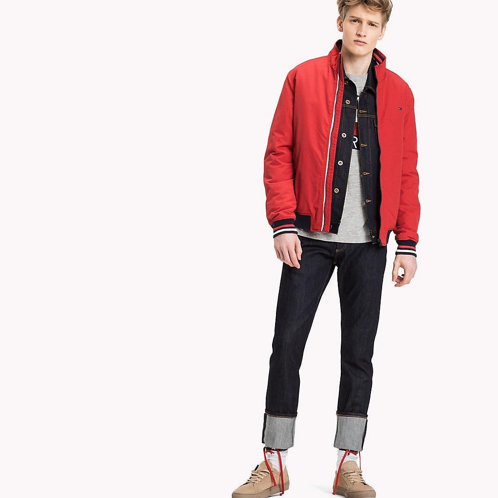 retro größte Auswahl von 2019 heiß-verkaufende Mode Tommy Hilfiger Nylon Padded Bomber in Red for Men - Lyst