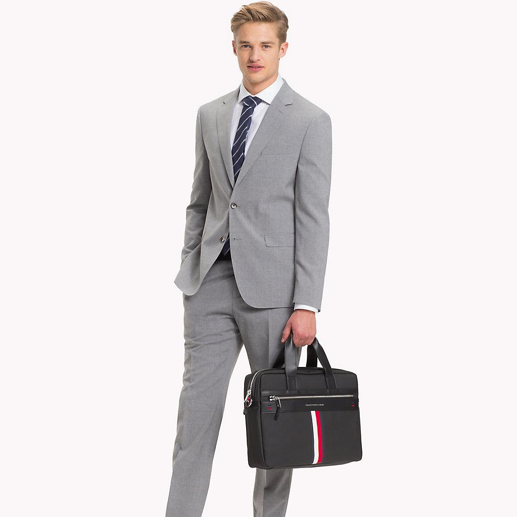 72471d64d53 Tommy Hilfiger Business Casual Laptop Bag in Black for Men - Lyst