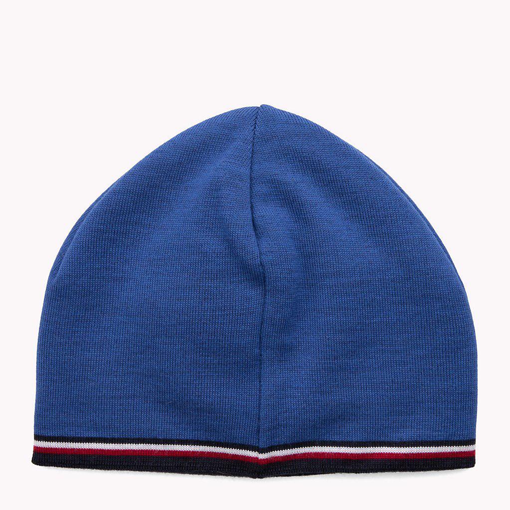 dc94e116 Tommy Hilfiger X Rossignol Logo Beanie in Blue for Men - Lyst