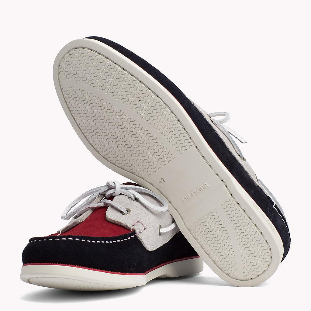 f8da96862a66c4 Tommy Hilfiger Classic Leather Boat Shoes for Men - Lyst