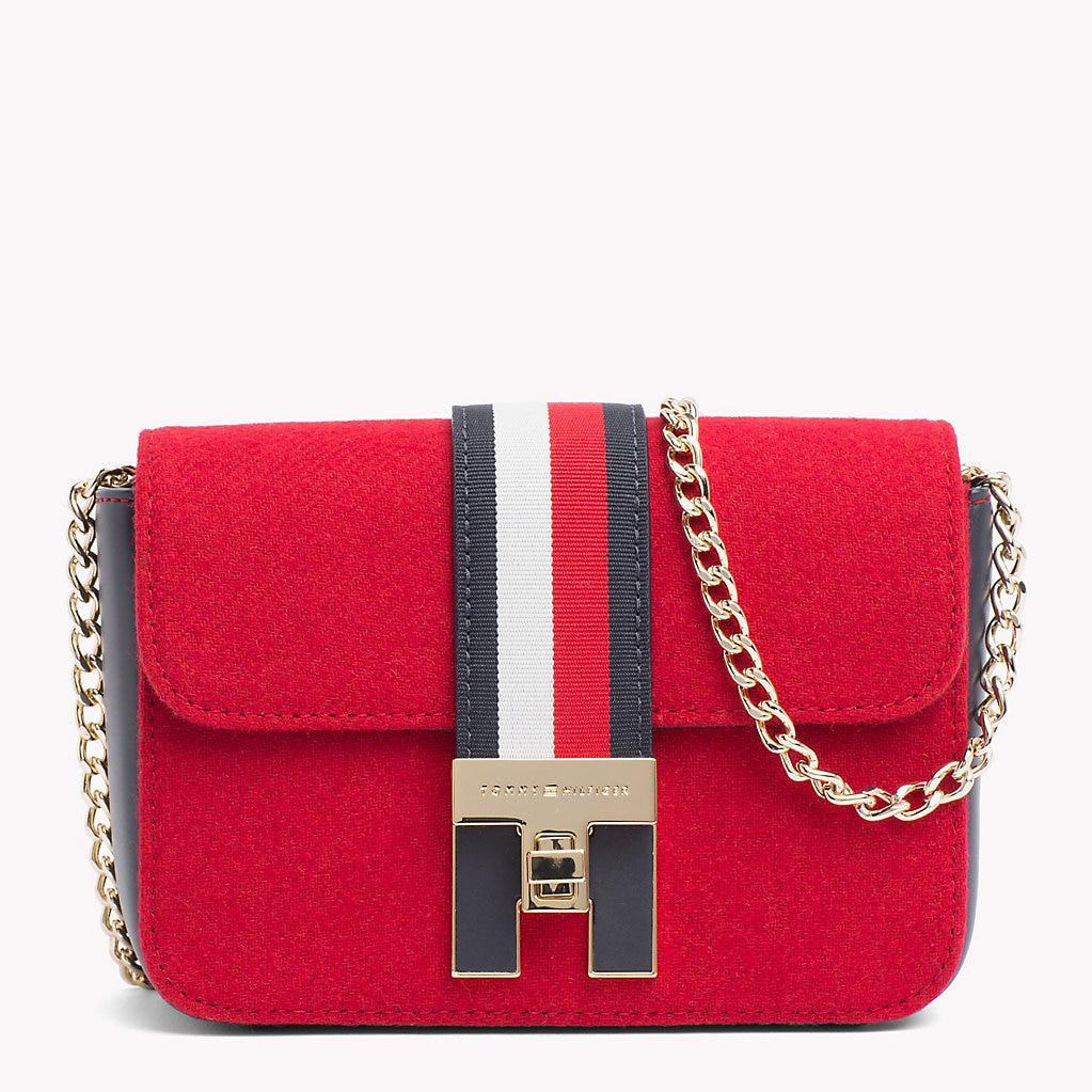 7127f0cf836e Tommy Hilfiger Heritage Mini Crossover Bag - Lyst
