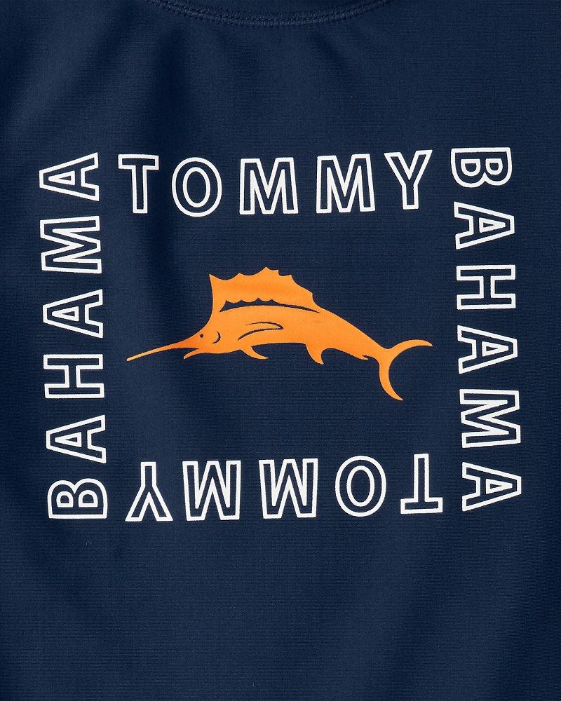 13c06d34ef Lyst - Tommy Bahama Little Boys' Moorea Marlins Rash Guard Set in Blue for  Men