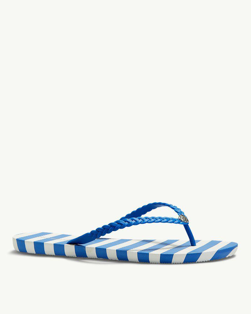 17addcb6a Lyst - Tommy Bahama Whykiki Braid Sandals in Blue
