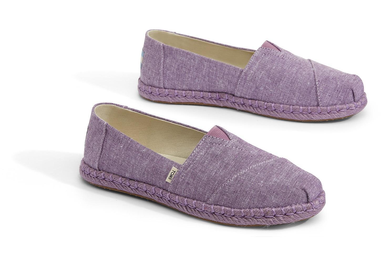 f2576026e9f TOMS - Purple Chambray Women s Espadrilles - Lyst. View fullscreen