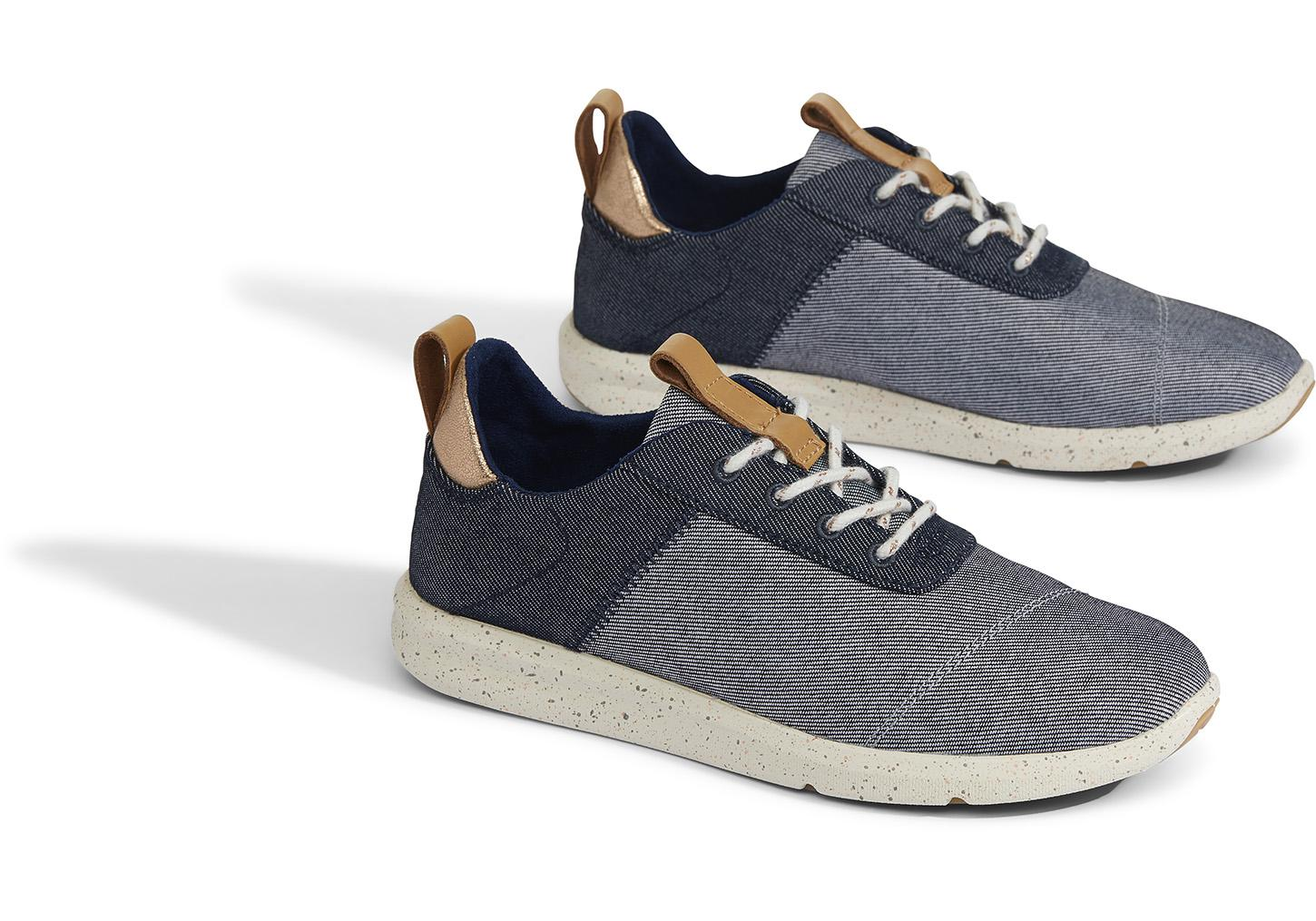 48070d564ce TOMS - Blue Navy Denim Cabrillo Women s Sneakers - Lyst. View fullscreen