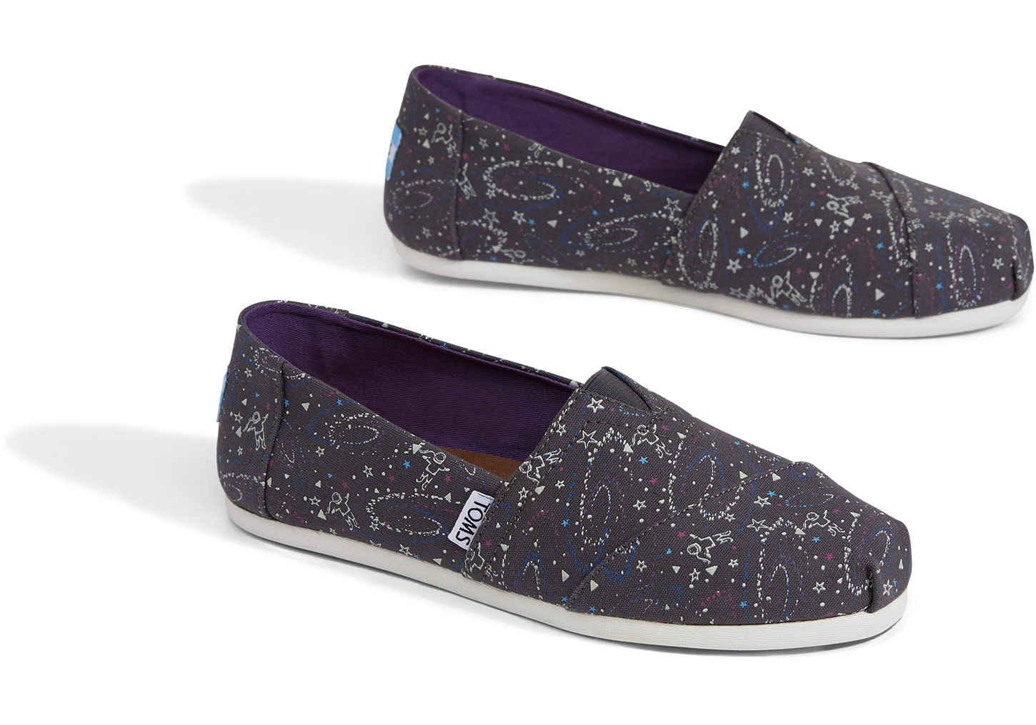 e28ae30869e TOMS Outerspace Glow In The Dark Women s Classics - Lyst