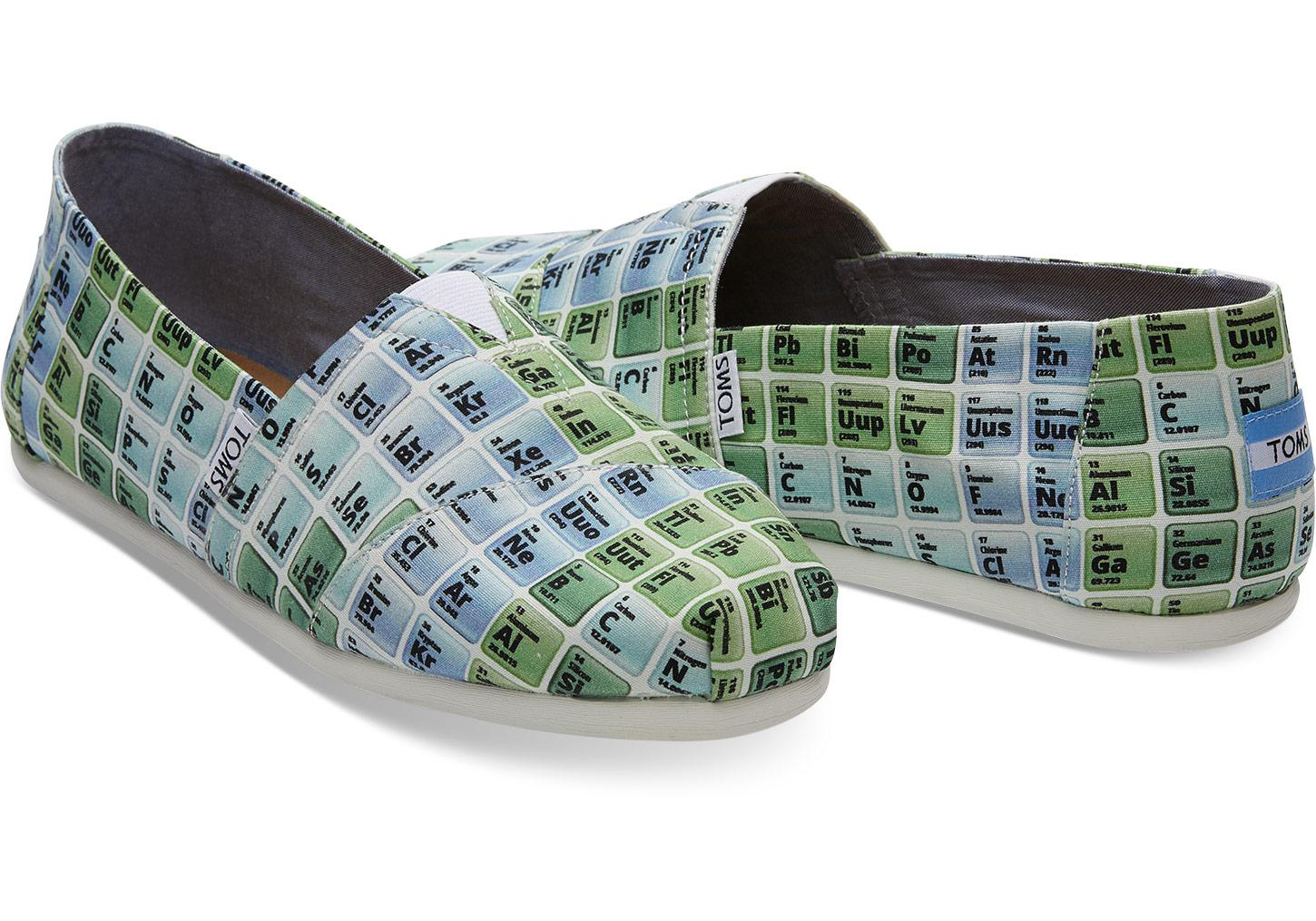 Lyst Toms Periodic Table Mens Classics For Men