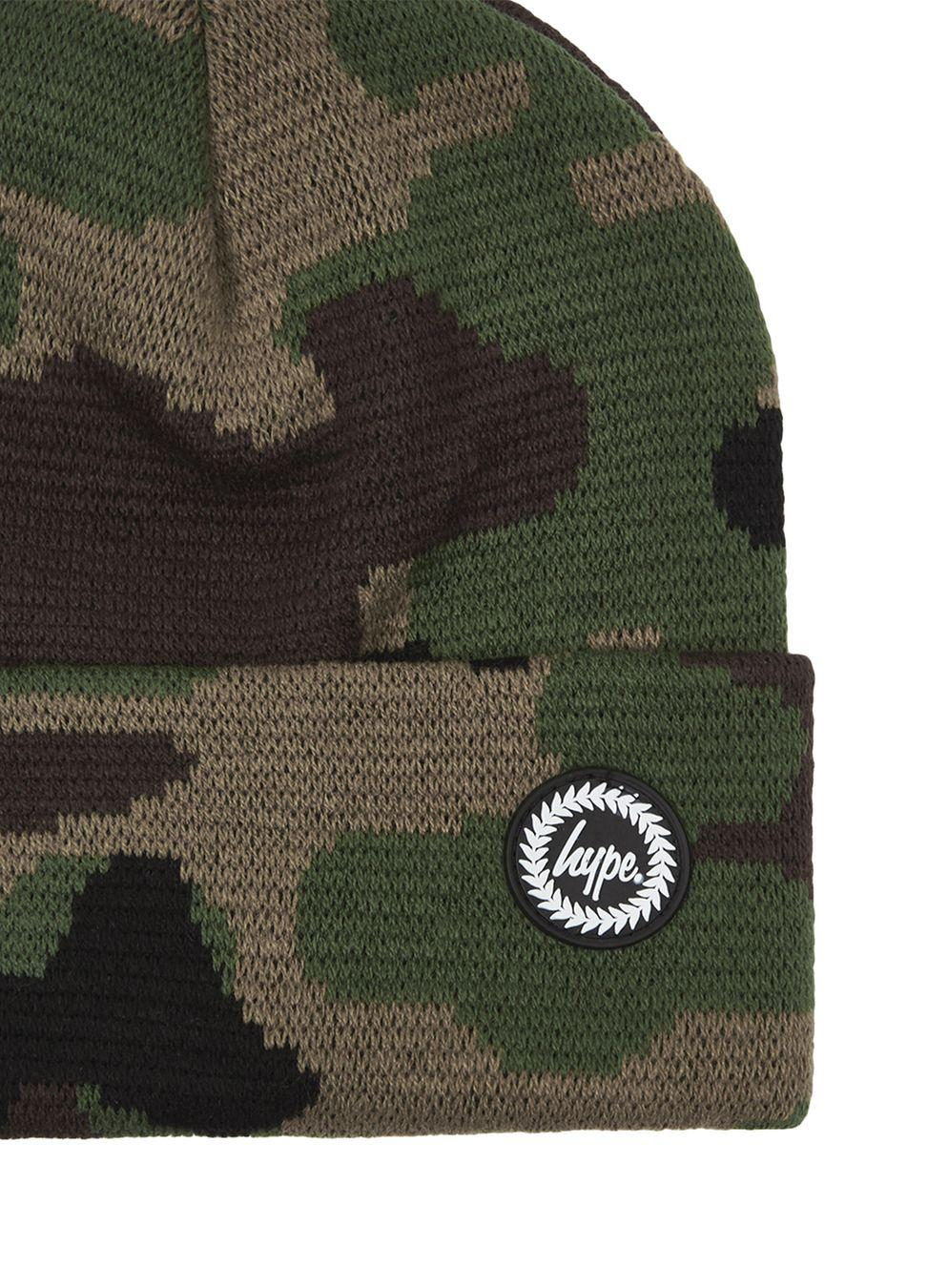 ea7f3b46dc8 Hype Camouflage Beanie in Green for Men - Lyst