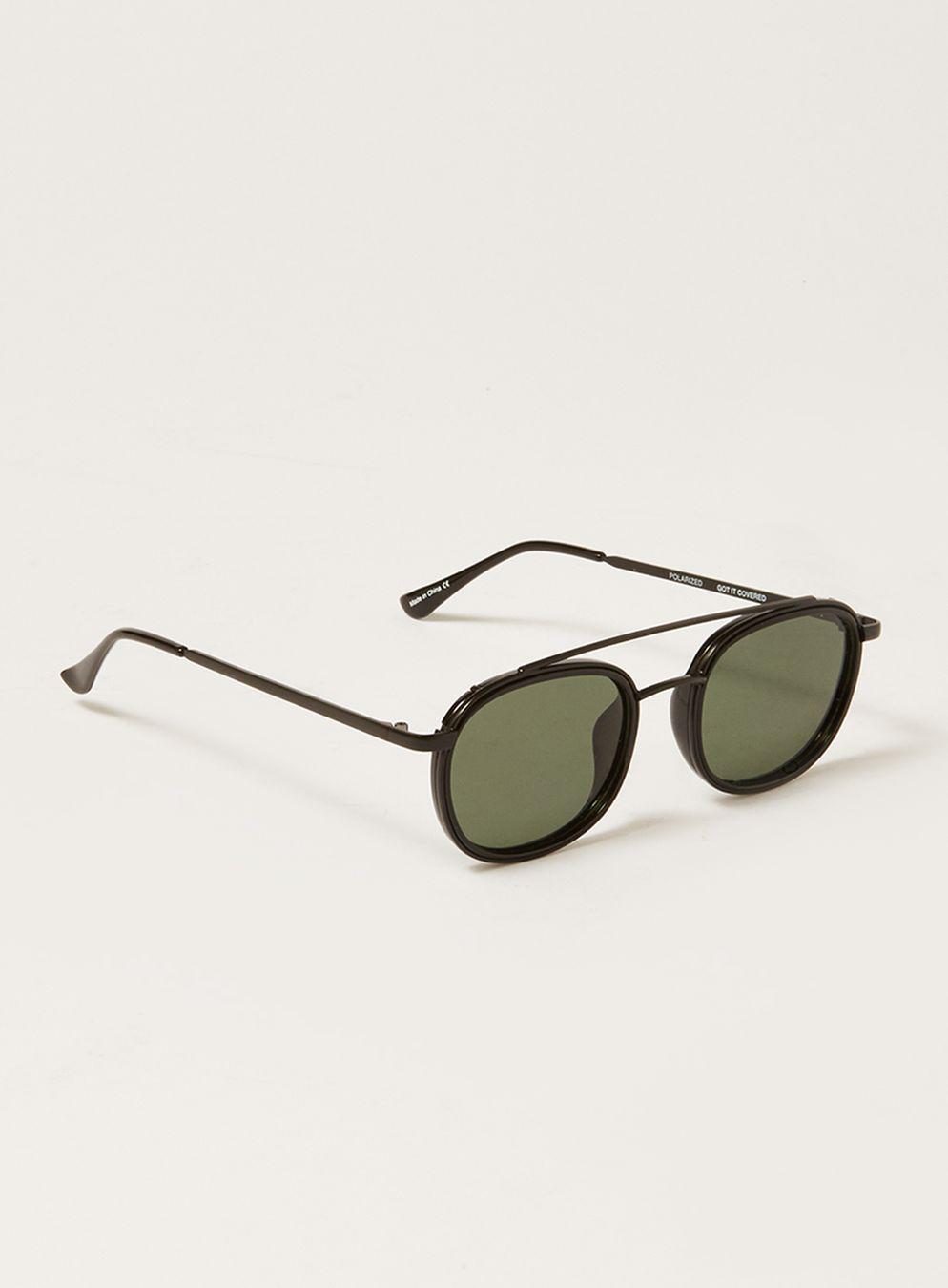 bc614089c5597 Lyst - TOPMAN Quay  got It Covered  Sunglasse in Black for Men